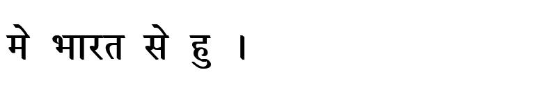 Preview of Kruti Dev 050 Bold