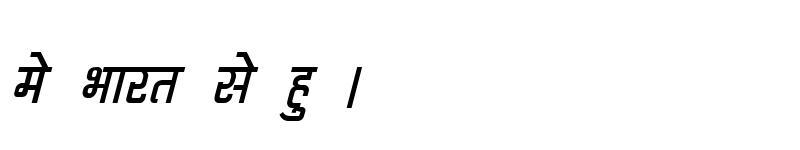 Preview of Kruti Dev 060 Italic