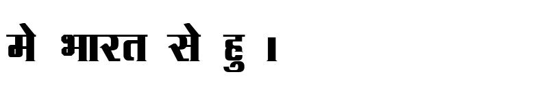 Preview of Kruti Dev 091 Bold
