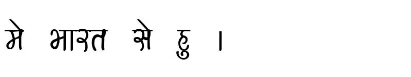 Preview of Kruti Dev 151 Bold