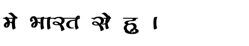Preview of Kruti Dev 171 Bold