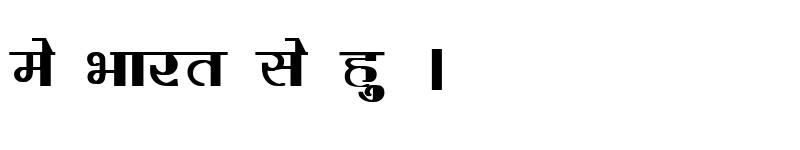 Preview of Kruti Dev 220 Bold