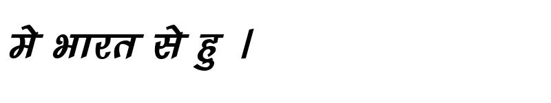 Preview of Kruti Dev 242 Italic