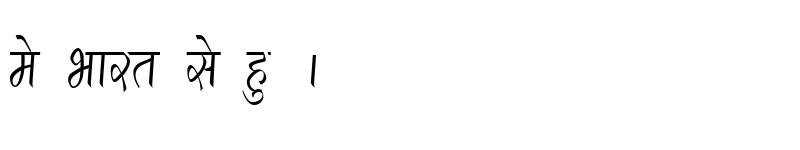 Preview of Kruti Dev 290 Condensed Regular