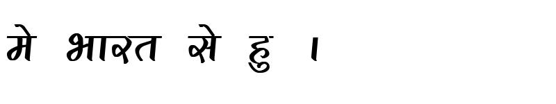 Preview of Kruti Dev 291 Bold