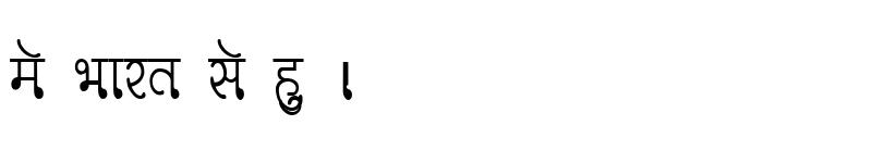 Preview of Kruti Dev 330 Condensed Regular