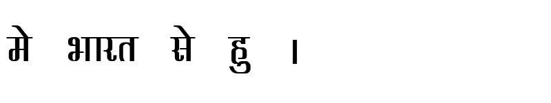 Preview of Kruti Dev 340 Bold