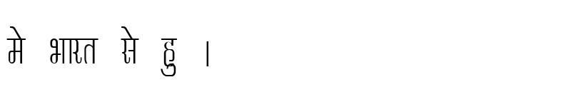 Preview of Kruti Dev 340 Condensed Regular