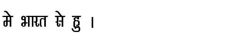 Preview of Kruti Dev 370 Condensed Regular