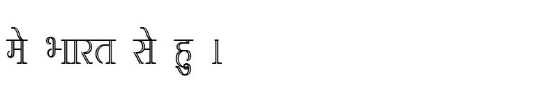Preview of Kruti Dev 380 Condensed Regular