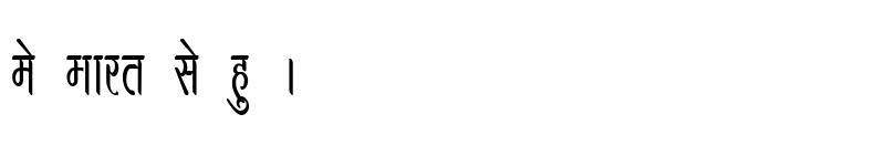 Preview of Kruti Dev 390 Condensed Regular
