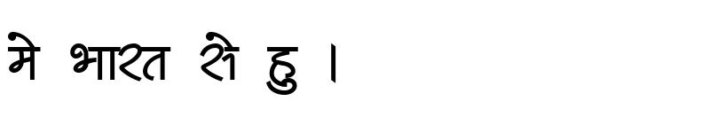 Preview of Kruti Dev 511 Bold