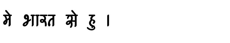 Preview of Kruti Dev 540 Bold