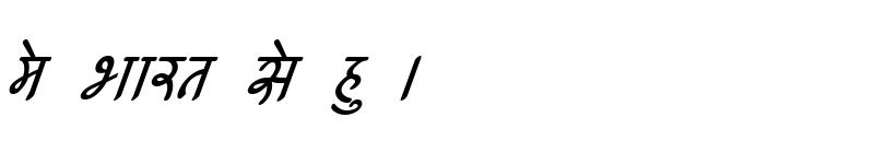 Preview of Kruti Dev 540 Italic