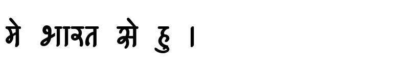 Preview of Kruti Dev 541 Bold